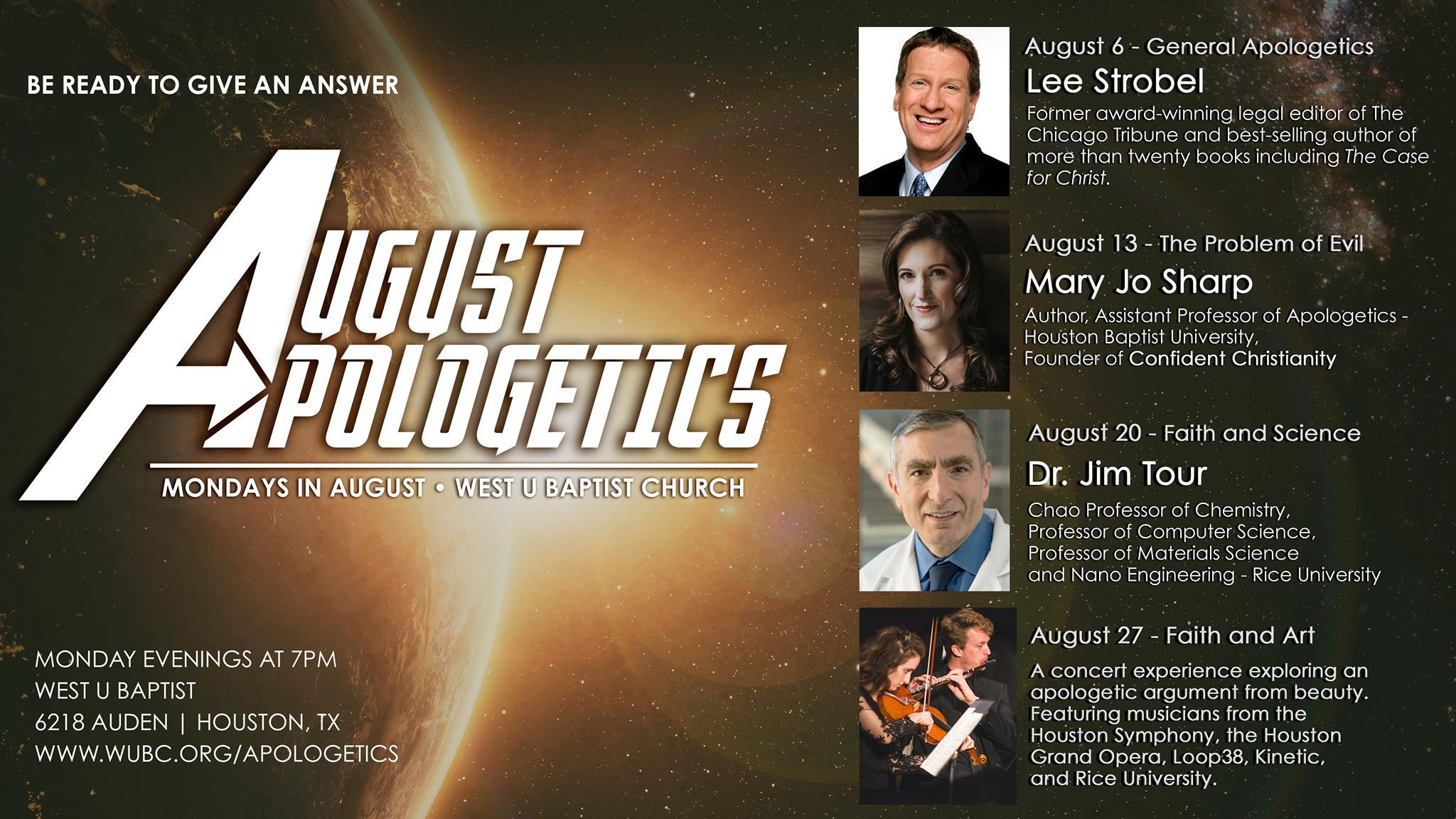 august apologetics